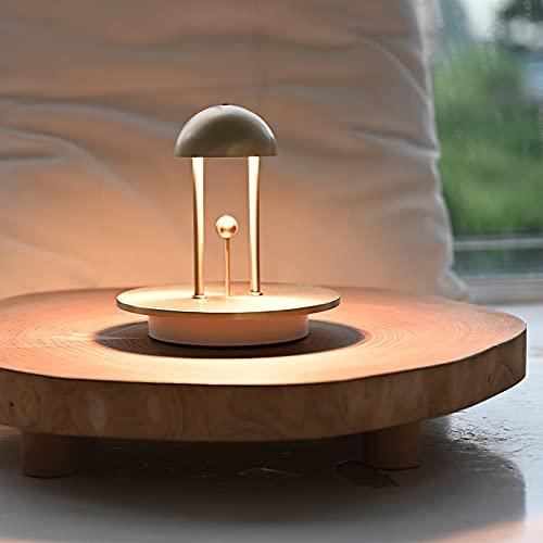 Topwor Luz nocturna INS para mesita de noche con sensor, luz suave y cálida, 5 tipos de brillo ajustables, con función de control táctil, producto corazón para niña