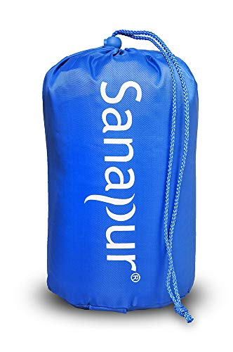 Sanapur Reisebeutel für Kopfkissen aus weichem Material Memory Schaum Latex oder Soft