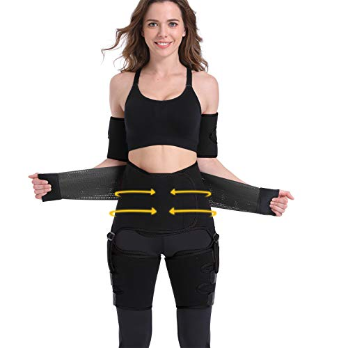 4 In 1 Arm and Thigh Waist Trainer for...