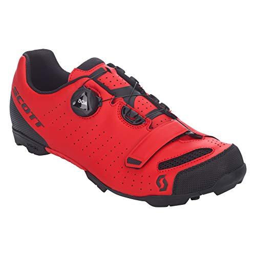 SCOTT MTB Comp Boa Zapatillas de Ciclismo, Hombre, Red/Black, 42