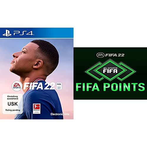 FIFA 22 - Standard Plus Edition (exklusiv bei Amazon.de) [Playstation 4] + FIFA 22 Ultimate Team - 2200 FIFA Points | PS4/PS5 Download Code - deutsches Konto