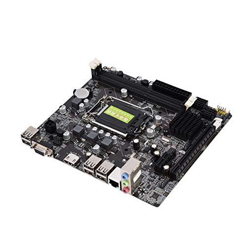 LGA 1155マザーボード DDR3メモリ/ファストイーサネット/ 4 USB2.0 / HDMI/VGA 高性能 高効率 高精細 ソリッドステートマザーボード デスクトップPCメインボード