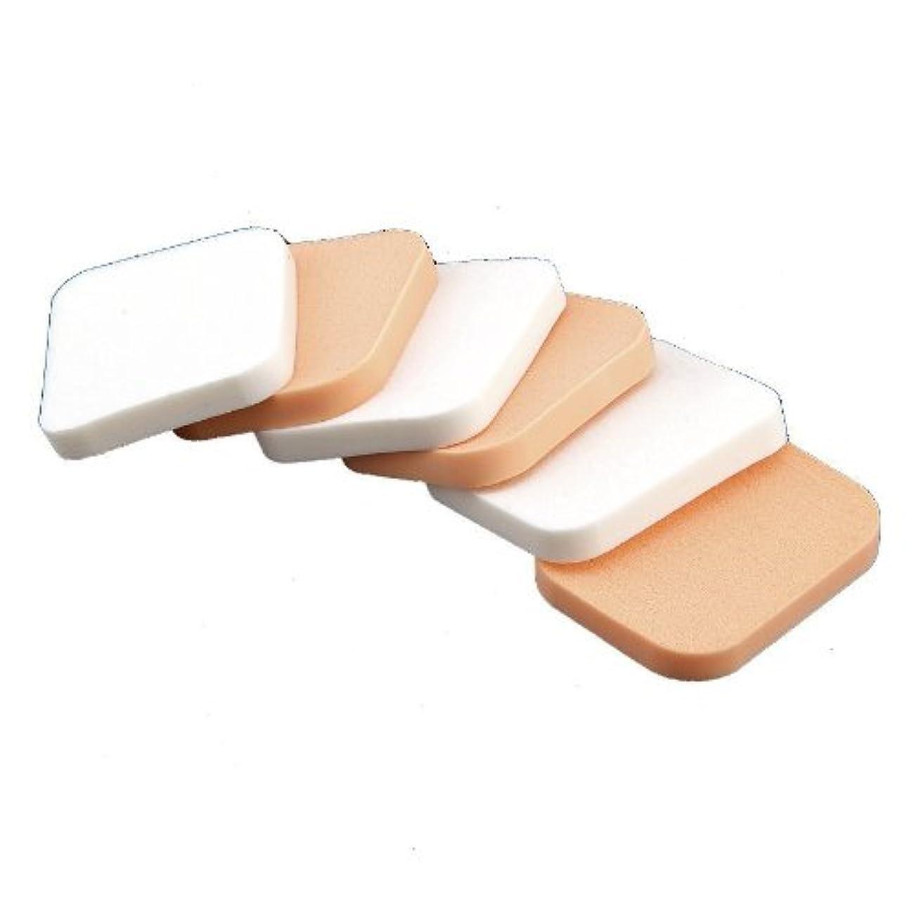 マーティンルーサーキングジュニアつなぐ背骨SODIAL(R) 6x パウダーパフメイクスポンジ 顔の化粧品スポンジ