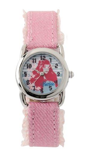 Barbie Mädchen-Armbanduhr Analog Quarz Plastik B563