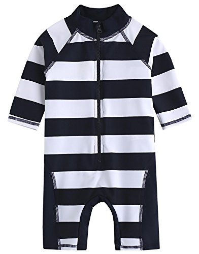 [Livraison gratuite] Vaenait bébé 0–24 m bébé garçon des manches longues One Piece Maillot de bain bébé Rico - - petit