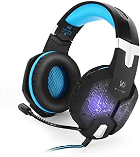 Jeecoo G1000 Stereo Gaming Headset with Mic for PC PS4 Xbox One Nintendo Switch,Lightweight Over Ear Headphones 3.5mm Jack...