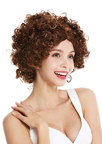 conseguir pelucas rizadas afro carnaval on-line