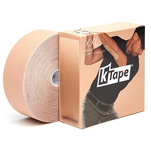 K-Tape® Beige XXL (Bulk Rolle, 5cm x 22m)