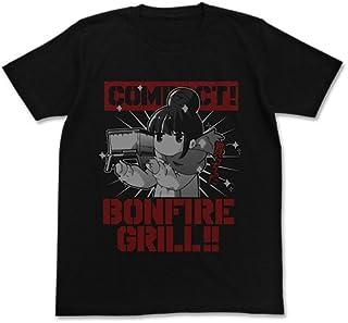 ゆるキャン△ リンの焚き火グリル Tシャツ ブラック XLサイズ