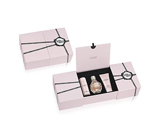 Set da donna Viktor & Rolf'Flowerbomb' (eau de parfum 50ml + crema per il corpo 40ml + doccia gel 50ml), confezione da 1 (1x 1pezzo)