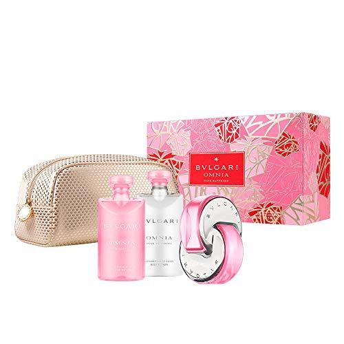 Bvlgari Bvlgari Omnia Pink Sapphire Set Woman Edt 65 Ml+B/L 75 Ml+S/G 75 Ml+Pouch - 65 ml
