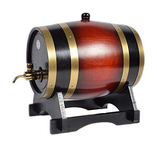 AFDK Eichenfass Weinfass Holzfass Weinfass Weinfass Dekoration Rotweinfass Bierfass Haushalt,A,20L