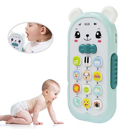 YDLYA Juguetes del teléfono del bebé Juguetes educativos tempranos del teléfono móvil Juguete Divertido del teléfono móvil de la simulación