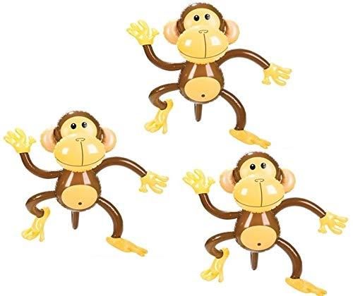 Rhode Island Novelty 27 Inch Inflatable Monkeys Set of 3
