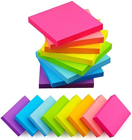 (16 Pads) 8 Pads 3×3 Sticky Notes and 8...