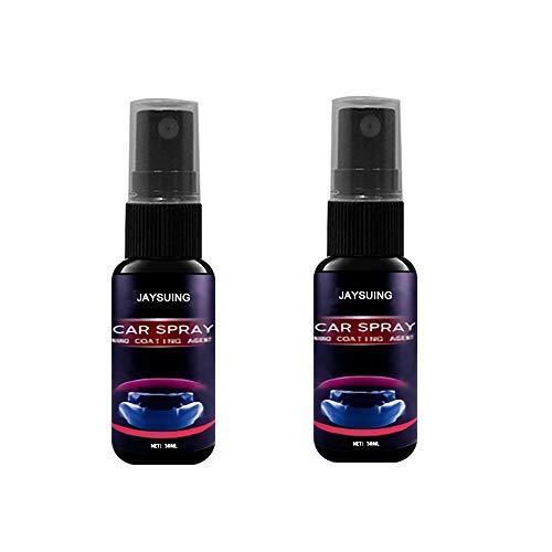 Efface rayure voiture Nano, dissolvant de réparation de rayures de voiture, cire de polissage de peinture d'entretien d'entretien de réparation de voiture, 30 ml * 2 pièces
