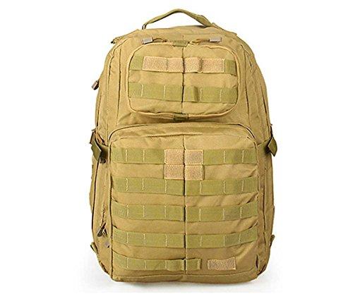 Canis Latrans Camo Backpack Outdoor Climbing CS Field Belt System Convenient Equipment Bag TAN