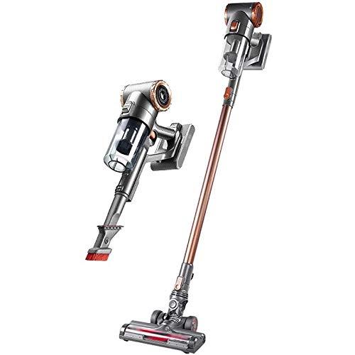 MEETGG Limpiador de vacío con Cable, Mano Liviana, 2 en 1 Recargable para Piso, Carro de Pelo Mascota
