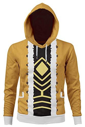 Hawks Cosplay Hoodie Jacket Sweatshirt Anime Red Wings Pullover Shirt Coat Halloween Costume Unisex