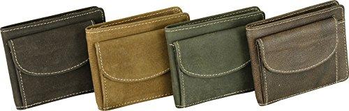Fuente Leather Wears  WLT008-010RN, Portafogli  Donna, marrone (marrone) - GLBBD