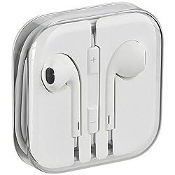 Original apple earpods écouteurs kit mains libres avec micro et contrôle de volume pour ipad iphone 6 plus 5/5S/5C/4/4S