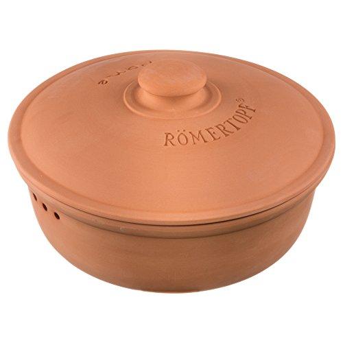 Römertopf - Pentola per Il Pane Medium, in Ceramica, Terracotta, Ø 23 cm