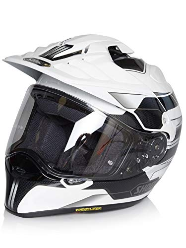 Casco Enduro Mx Shoei Hornet Adv Navigate Tc-6 Bianco (Xl , Bianco)
