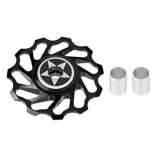MZH Bike Guide Wheel - Mountain Bike Aluminium Alloy Rear Derailleur Wheel Bicycle Ceramics Guide Roller
