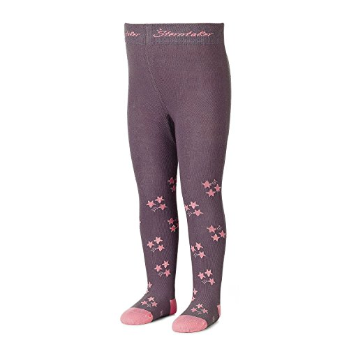 Sterntaler - meisjes panty met glittersters, lila - 8701703b