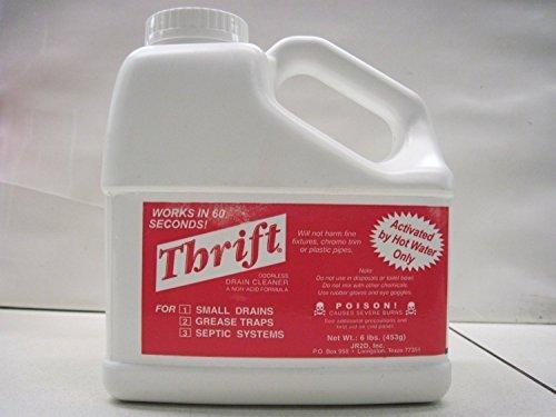 THRIFT T-600 Alkaline Based 6 lb. Granular Drain Cleaner by Thrift