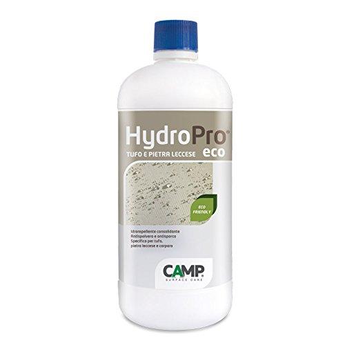 Camp HYDRO PRO ECO Tufo e Pietra Leccese, Idrorepellente, Protettivo e Consolidante, a base acqua, per pietre naturali porose