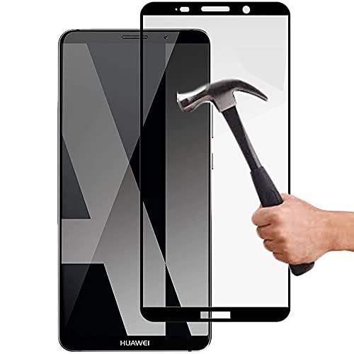 Lapinette Vetro Temperato Integrale Compatibile con Huawei Mate 10 Pro - Pellicola Vetro Temperato Mate 10 Pro Integrale - 9H Force Glass - Vetro Temperato Copertura Totale