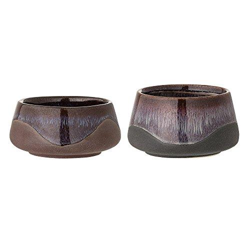 Bloomingville Teelichthalter 2er Set, mehrfarbig