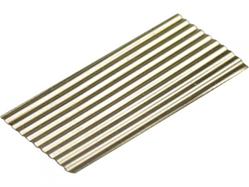 modellbahn-exklusiv Wellplatten, 20 Stück, Eternit 2,5m -H0-