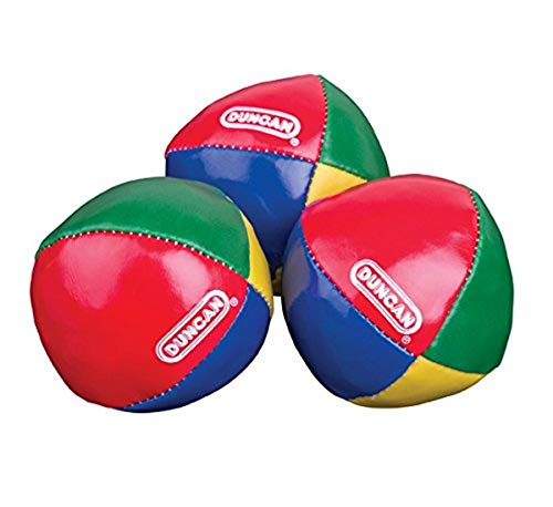 Product Image of the Duncan Juggling Balls - [Pack of 3] Multicolor, Vinyl Shells, Circus Balls with...