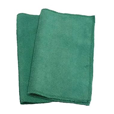 Swiffer Sweeper, Microfiber, Refill, Wet Mopping or Dry Dusting, Reusable, Eco-friendly, Set of 2, Many Colors Available (Green)