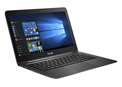 Asus Zenbook UX305LA-FC012T 33,8 cm (13,3 Zoll-FHD) Laptop (Intel Core i7 5500U, 8GB RAM, 256GB SSD, HD Graphic 5500, Win 10 Home) schwarz