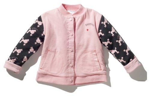 Noppies - Abrigo para niña rosa, talla: 56cm (0-3 meses)