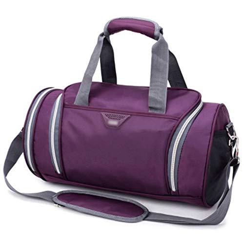 Bolsa de gimnasia Deportes - Bolsos de tela bolsa de viaje resistente al agua deporte de las mujeres de los hombres del bolso del gimnasio de fitness Mochila Bolso al aire libre espacio separado for l