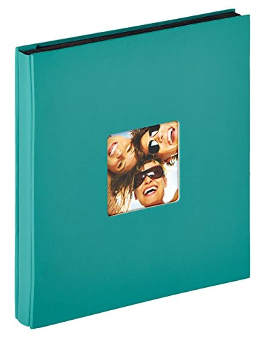 walther design Photo Album, Textured Paper, Petrol Green, 31 x 33 x 3 cm