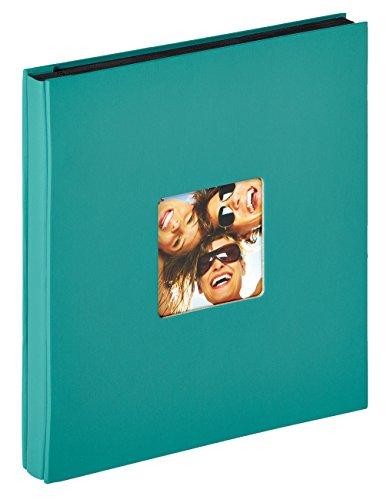 Walther design EA-110-K Fun Einsteckalbum, für 400 Fotos im Format 10 x 15 cm, petrolgrün