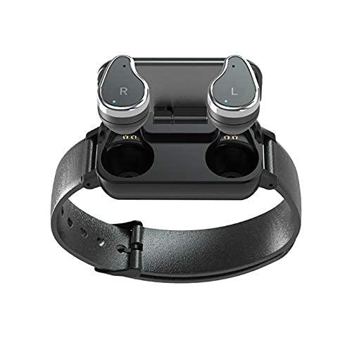 YIXINHUI Auricular Bluetooth Auriculares Bluetooth Wireless Wireless, Auriculares inalámbricos Bluetooth con Pantalla Inteligente, Pantalla táctil Un Control de Teclas AUTOMAJE AUTOMO