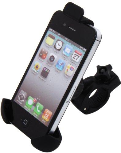 Luxburg® Fahrrad Lenker Halterung größenverstellbar für Apple iPhone 6 / 5S / 5, Apple iPod Touch 5G / 4G