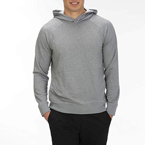 Hurley Men's Nike Dri-Fit Disperse Fleece Pullover Hoodie, Cool Grey, M