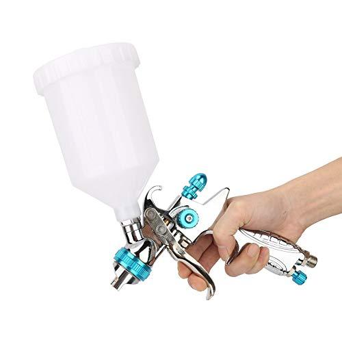 Jadeshay Pistola per verniciatura a spruzzo, Pistola a spruzzo pneumatica ad Alta atomizzazione per verniciatura ad Aria, Calibro H887P da 1,4 mm