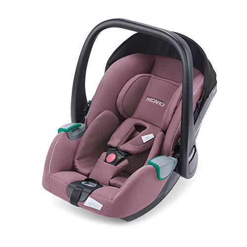 RECARO Kids, Babyschale Avan, i-Size 40-83 cm, Babyschale 0-13 kg, Kompatibel mit der Avan/Kio Base (i-Size), Verwendung mit Kinderwagen, Einfache Installation, Hohe Sicherheit, Prime Pale Rose