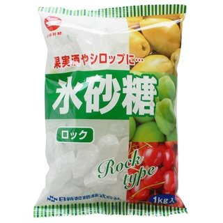 【送料別】カップ印 日新製糖 氷砂糖 ロック (1kg×10袋)×2ケース