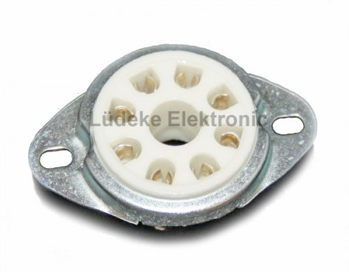 Röhrensockel 8-Pin Oktal