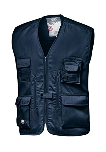 Sir Safety Gilet Multitasche da Lavoro Blu (XXL)