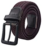 Belts, Belts for Men, Mens Belt with Leather Tip, Black Belt Buckle 43-49